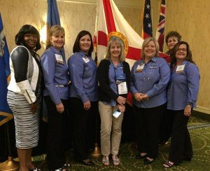2015 FHIMA Delegates at the HOD during the AHIMA Convention